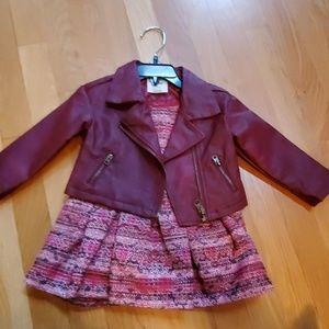 12 Months Osh Kosh Kids dress and jacket